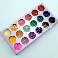 Wholesale Wholesale Crushed Shell Glitter - 18 Colors Acrylic Nail Powder Particle Crushed Shell Manicure Set Nail Art Glitter Decoration Tools tool rest