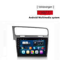 Para Volksworgen GOLF 7 Car dvd Gps Cortex A7 quad core 1.6G HZ 7 pulgadas Android Versión 4.4.2 Wifi OBD DVR
