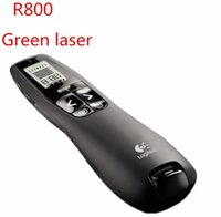 Wholesale Remote Pointer - R800 2.4 GHz Wireless Presenter Remote Presentation USB Control PowerPoint PPT Clicker with Green Laser Pointer