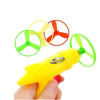Wholesale Toy Guns Paper - Colorful flying saucer gun stall Yiwu sourcing intelligence toys strange new commodity wholesale children's toys wholesale