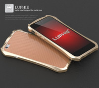 Wholesale High End Mobile Phone Cases - For iphone7 high-end metal frame Apple 7plus Batman leather back strap mobile phone protection shell