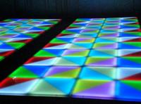 Wholesale Stage Floor Tile - RGB Stage Dedicated LED Floor Tiles Disco T Station Bar Club Floor Dedicated Floor Tiles