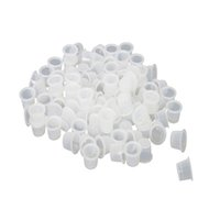 Wholesale 100 Bag Small Size mm Plastic Tattoo Ink Cap Cups Supply