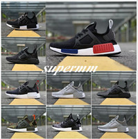 Wholesale Shadow Duck - 2017 NMD_XR1 PK Running Shoes Cheap Sneaker NMD XR1 Primeknit OG PK Zebra Bred Blue Shadow Noise Duck Camo Core Black Fall Olive