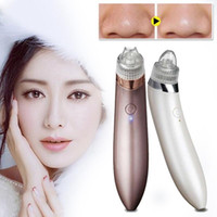 Wholesale Vacuum Facial Massager - Rechargeable Facial Face Pore Cleanser Vacuum Blackhead Removal Suction Acne Remover Skin Care Face Massager Portable Use