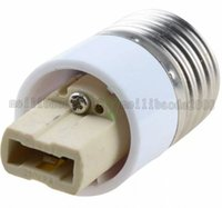 Wholesale E27 G9 Adapter - NEW E27 to G9 base Socket Adapter Converter For LED Light Lamp Bulb Small free shipping MYY