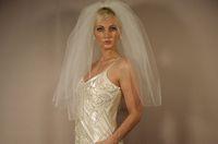 Wholesale Satin Flower Heads - 2016 Top Quality Best Sale Fashion Designer Mantilla veil Satin Edge Veils Elbow Length White Ivory Bridal Head Pieces