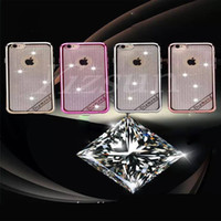 Wholesale Wholesale Buying Apple Iphone - Electroplating phone cases glitter no clamping line fashion beautiful cheap cell phone cases mobile case buy mobile phone for iphone 6 6G