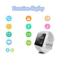 Wholesale China Outdoor Fitness - 2016 new product china factory price smart watch u8 Bluetooth Smartwatch U8 U Watch Smart Watch wholesale U8 for DHL free shipping