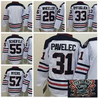 Wholesale Byfuglien Jersey - 2016 Ice Hockey Winnipeg Jets Heritage Classic Jerseys 55 Mark Scheifele 33 Dustin Byfuglien 26 Blake Wheeler 57 Tyler Myers 31 PAVELEC