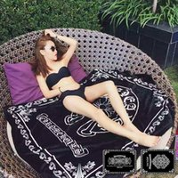 Wholesale Coral Black Bedding - Luxury Brand Blanket Coral Fleece Blanket on the bed Black Flannel Blanket Sofa Throw Blanket, 150cm*200cm Free shipping