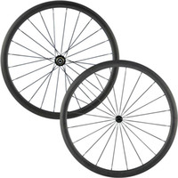 Wholesale Chinese Roads - AWST 38mm carbon wheelset 700c clincher powerway hubs with 20 24h chinese carbon wheelset racing road bicycle carbon wheels free shipping