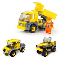 Wholesale Fun City - 2017 The Most Fun Building Blocks The Dump Trucks Of The City Engineering Educational Toy