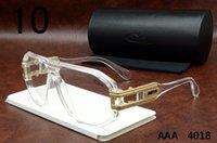 Wholesale Cheap Black Eyeglass Frames - Eyewear Cazals 4018 Full Clear Sunglasses Cheap Germany Vintage Eyeglasses Brand Designer Cazals Frames Mens Womens Polarized Glasses