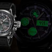 часы ohsen для дайвинга оптовых-2016 OHSEN недавно мужские светодиодные часы военный спорт дайвинг часы модный бренд силиконовые мужчины Кварцевые наручные часы Relogio Masculino