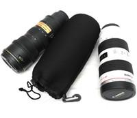 Wholesale Shock Camera - Canon card Ruier dustproof bag Nikon lens telephoto lens package set waterproof shock protection anti moisture fall