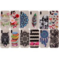 Barato Crânio Dreamcatcher-Soft IMD TPU Case para iphone X 8 7 Plus 6 6S SE 5 5S Ipod Touch 6 5 Skull Butterfly Flower Lace Silicone Dreamcatcher Owl Gel Doughrings Cover