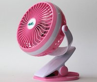 Wholesale Table Tents Wholesale - 6INCH Rechargeable Operated Clip on Fan Elechomes Mini Desk USB Fan for Home Office Baby Stroller Car Laptop Study Table Gym Camping Tent