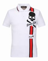 Wholesale Camisa American Shirts - Luxury Men Polo Shirts Brand Designer Plus Size Slim Fit T Shirts Homme Short Sleeve Mens Brand Clothing Camisa Masculina Hot