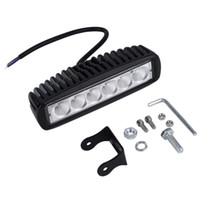 Truck Car 18W 6 SMD LED Work Bar Luz Invertendo Flood Worklight Lâmpada para o Jeep barco 4WD 12V 24V Hot Selling