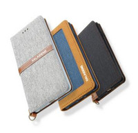 Wholesale Linen Iphone Case - New For iPhone 7 Original KALAIDENG Funwear-X Series Linen+PU Leather Business Case Wallet Flip Cover For cover apple iphone 7 plus Bag DHL