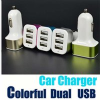 Wholesale iphone 5c usb charger for sale - Group buy For Iphone s c Car Charger Traver Adapter Car Plug Hot Selling Triple USB Ports Car Charger Without Package