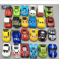 Wholesale Military Car Models - Children Cartoon automobile Engineering Vehicle Aircraft Military Car Alloy Model Car Toys Collection As Gift For Boy Kids 45 Styles