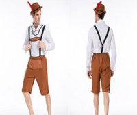 All'ingrosso-Best Seller Oktoberfest Fancy Dress Plus Size costumi sexy Uomini Déguisement Halloween Cosplay uniforme XXL CE340