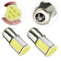 Wholesale Automotive Led 1156 - Triangle Shape Car Brake Backup Light Bulb High Power COB LED DC12V 1156 BA15S Automotive Tail Lamp