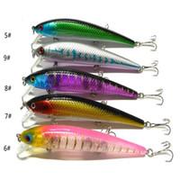 Wholesale Minnow Crank Baits - Big game bass Saltwater Crankbait wobbler Fishing Lures 12.3cm 17g ABS plastic minnow crank False bait with 3 hooks