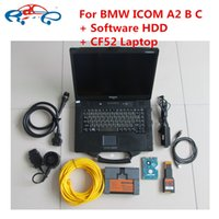 Wholesale Bmw Isis A2 Icom - toughbook CF52 Laptop with for bmw icom a2+b+c with software hdd v2017.07 for bmw isis diagnostic programmer icom a2