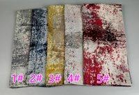 Wholesale New Girls Muffler Styles - Spring new style fashion design viscose scarf women printing kerchief polka dot pashmina muslim hijab scarves Muffler 10pcs lot