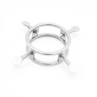 Wholesale chastity ring gay sex for sale - Group buy Latest Male Chastity Device Handcrafted Screwed Rings Bondage Fetish HOT Gay Sex toy A233