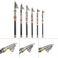 1pc Super Light Carbon telescopica portatile Polo salata Casting Spinning Pesce Pole mano Sea Fish Tackle