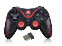Wholesale Iphone Controller Bluetooth - Game Controllers Terios T3+ gamepad bluetooth equipped cell phone holder GEN GAME S3 Bluetooth gamepad for android phone IOS iphone