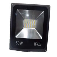 Wholesale Stadium Flood Light - AC 85-265V LED Flood Light 50W Garden Light Waterproof Outdoor Lamp Projection Floodlights Stadium Square CE RoHS