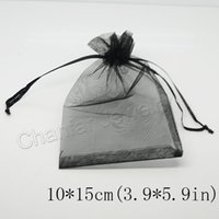 Wholesale Christmas Gift Packs Sale - Selection 21 Colors Jewelry Packing Drawable Organza Bags 10*15cm,Wedding Gift Bags & Pouches used for candy gift hot sale