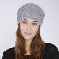 Winter Beanie Knit Wolle Hut Warme Kappe Coll Für Herren Womens Schwarz Navy Grau Braun Mode Kleidung Zubehör Gute Geschenke DC43