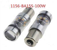 Wholesale Bright Led Turn - High Bright 100W 1000LM CREE Tail Brake Bulb Turn Signal Reverse Light 1156 BA15S Fog Lamp P21W 1156 1157 7440 3156 20 SMD Car Bulbs