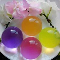 bolas de espuma mágica al por mayor-Extra Large 10-12mm Soft Crystal Soil Overlord bolas de bolas de dragón SeaBaby Water Cuentas de espuma Magic Jelly Ball Soilless Growing Substrates