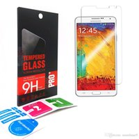 Wholesale Tempered Glass Anti Shatter - 0.33mm Explosion-proof Tempered Glass For Samsung Galaxy Note 5 4 3 2 1 N910 N750 Premium Screen Anti Shatter Protector Film retail-box