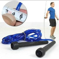 Wholesale Calorie Jump Rope - 2.6M Fitness Workout Gym Skipping Jumpping Boxing Speed Rope Lose Weight Calorie