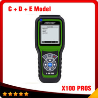 Wholesale Odometer Correction Gm - 2016 Top selling OBDStar Auto Key Programmer X100 PROS C + D +E model x-100 pros Odometer correction tool free shipping