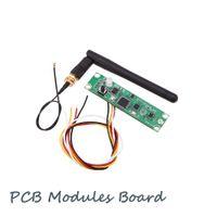 aydınlatma antenleri toptan satış-Kablosuz DMX512 2.4G Led Sahne Işık PCB Modülleri Kurulu LED Kontrol Verici Alıcı ile Anten