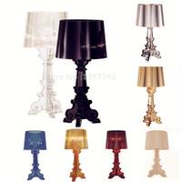 "Wholesale Modern H - Wonderland S:Dia 24cm 9.4"" H 52cm 20.5"" Acrylic Table Lamp Light PERFECT PRODUCE 8 Color Choices 2016 Hot New Modern LED Lamp"
