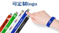 Wholesale Wholesale Flash Drive 128 Gb - 5 Piece No Logo Silica gel Bracelet USB Flash Drives Brand New Plastic Cartoon Bracelet U Disk USB2.0