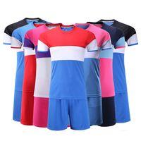 Wholesale Girls Kids Jersey - Kids Football kit Soccer shirts shorts Boys Girls jerseys