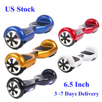 Wholesale Drift Wheel - 2016 New Hoverboard 6.5 Inch Two Wheels Electric Scooters Smart Balance Wheel Drifting Board Self Balancing Scooter Skateboard Free Shipping