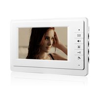 Wholesale Video Intercom Units - 720P 7 inch LCD screen Display Wired Video Door Phone Intercom Indoor Unit Without Outdoor Camera