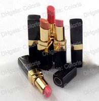Wholesale lip sticks - Professional Brand Makeup Lipstick Rouge Shine Lipstick Long-Lasting Hydrating Lip Stick Have 12 Different Colors